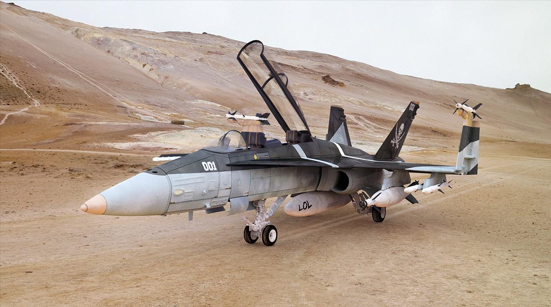 F18-Hornet by Carmine Napolitano