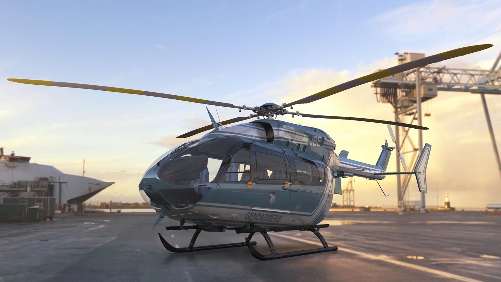 Eurocopter EC145 by Steve de Vriendt