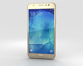 Samsung Galaxy J5 Gold 3D model