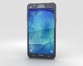 3D model of Samsung Galaxy J7 Black