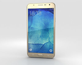 3D model of Samsung Galaxy J7 Gold