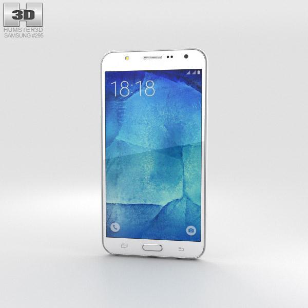 Samsung Galaxy J7 White 3D model