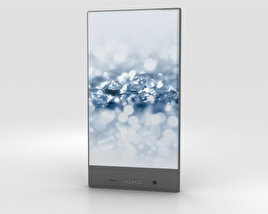 3D model of Sharp Aquos Crystal 2 Black