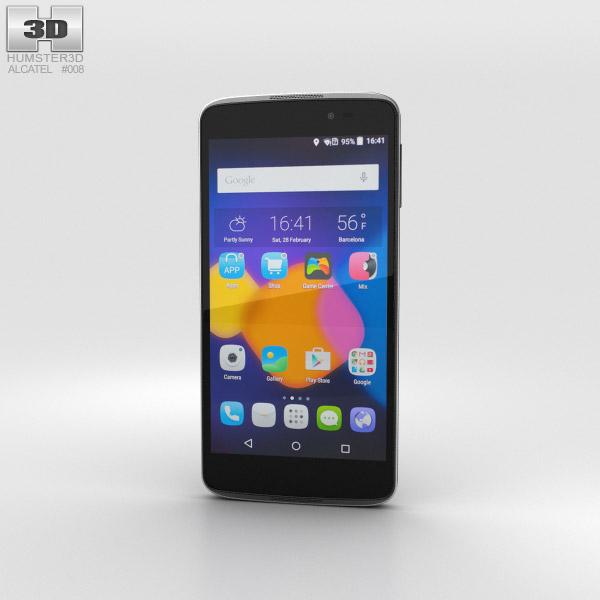 Alcatel One Touch Idol 3 4.7-inch Black 3D model