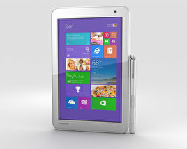 3D model of Toshiba Encore 2 8-inch Gold