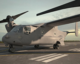3D model of Bell Boeing V-22 Osprey