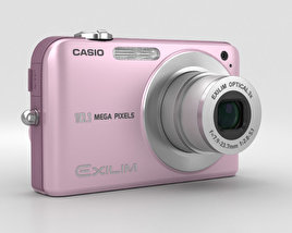 3D model of Casio Exilim EX- Z1050 Pink