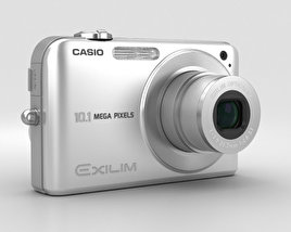 3D model of Casio Exilim EX- Z1050 Silver