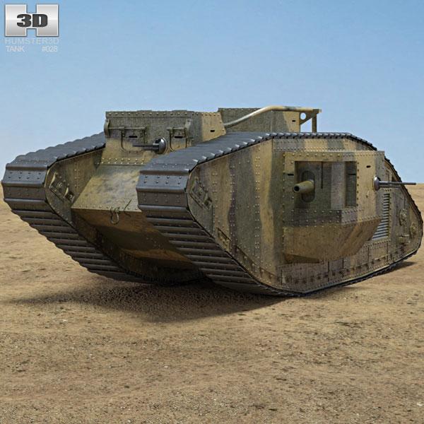 Mark V Tank 3D model