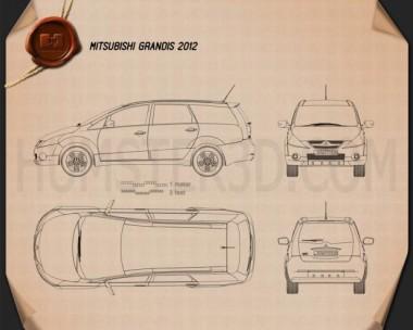 Mitsubishi Grandis 2012 Blueprint