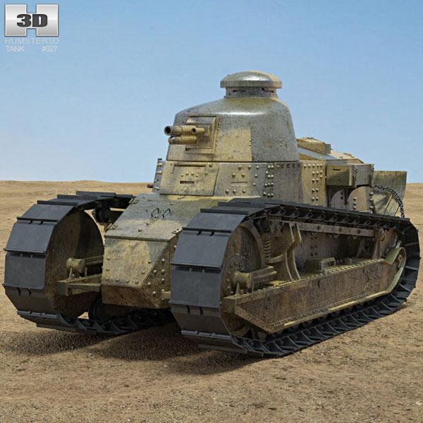 Renault FT-17 3D model