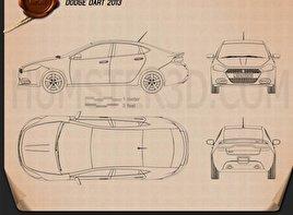 Dodge Dart 2013 Blueprint