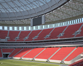 3D model of Estadio Nacional de Brasilia Mane Garrincha