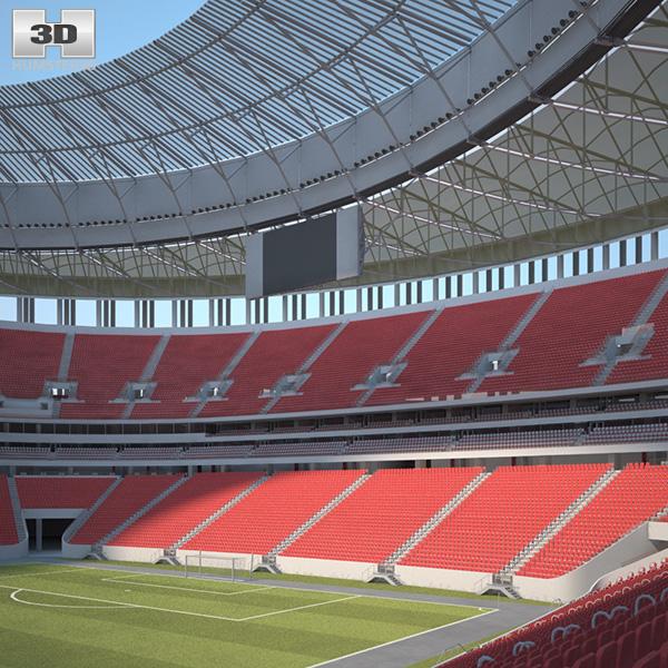 Estadio Nacional de Brasilia Mane Garrincha 3D model