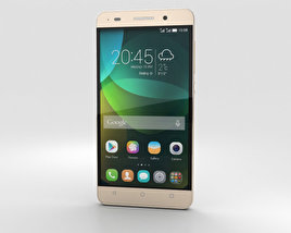 3D model of Huawei Honor 4C Gold