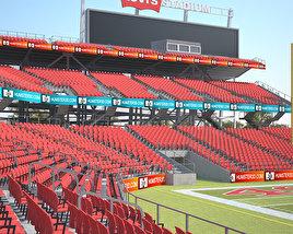 3D model of Levi's Stadium