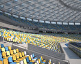 Olimpiyskiy National Sports Complex 3d model