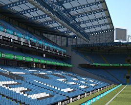 3D model of Stamford Bridge