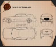 Chrysler 300C wagon 2009 Blueprint