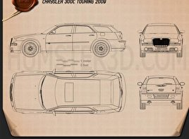 Chrysler 300C wagon 2009 Blueprint
