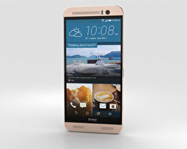 3D model of HTC One ME Gold Sepia