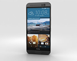 3D model of HTC One ME Meteor Grey