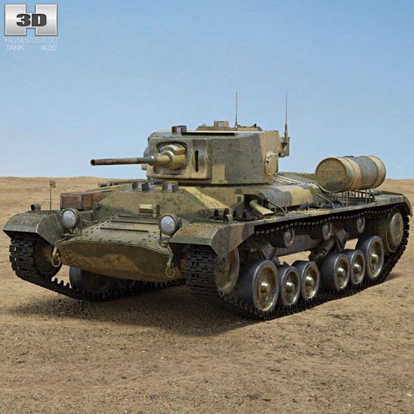 Valentine Infantry Tank Mk III 3D model