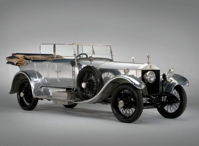 The Rolls-Royce 40/50HP Silver Ghost