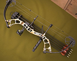 3D model of Bear Archery Cruzer Bow