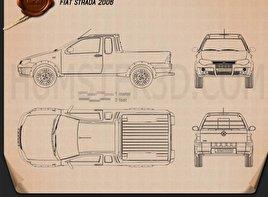 Fiat Strada III 2004 Blueprint
