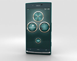3D model of Kyocera Urbano V02 Green