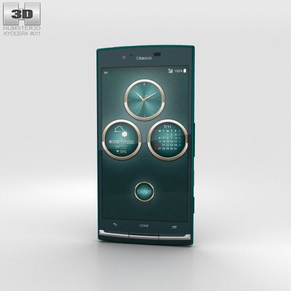 Kyocera Urbano V02 Green 3D model