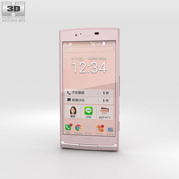 Kyocera Urbano V02 Pink 3D model