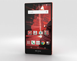 3D model of Sharp Aquos Zeta SH-03G Red
