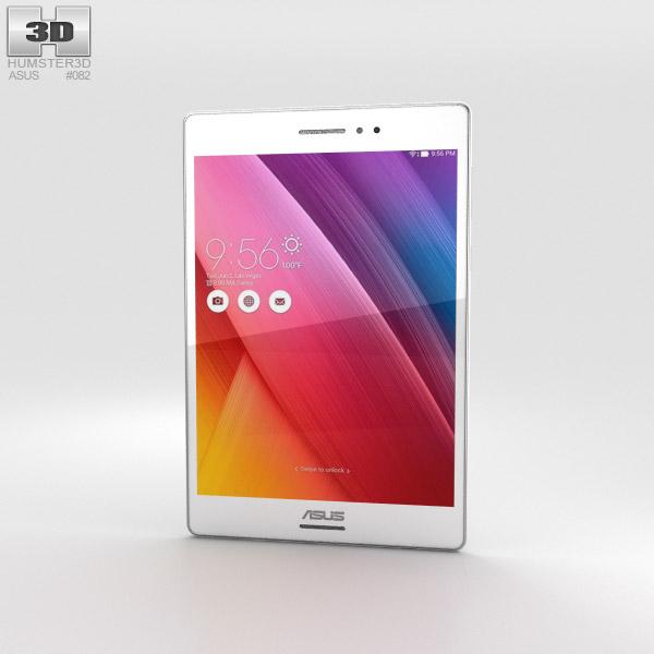 Asus ZenPad S 8.0 White 3D model
