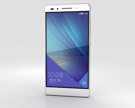 3D model of Huawei Honor 7 White