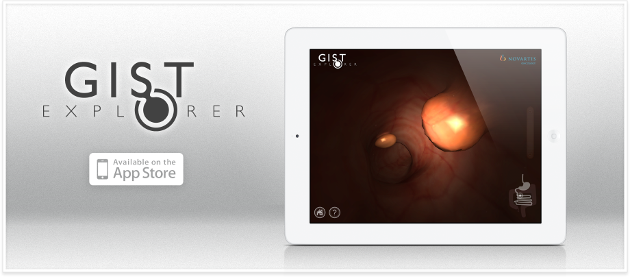 GIST Explorer application by inVivo studio