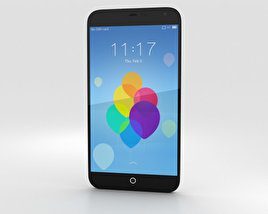 3D model of Meizu MX3 Black/White