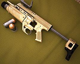 3D model of FN Scar MK13 EGLM