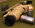 FN Scar MK13 EGLM 3d model