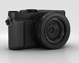 3D model of Panasonic Lumix DMC-LX100 Black