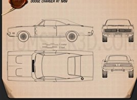 Dodge Blueprint 3d Models Download Hum3d
