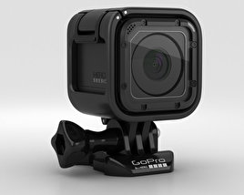 3D model of GoPro HERO4 Session