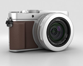 3D model of Panasonic Lumix DMC-LX100 Silver