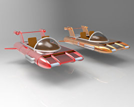 Retro Flying car