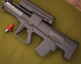 Heckler & Koch XM25 3D model