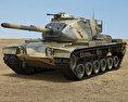 M60 Patton 3d model