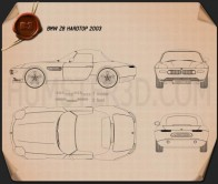 BMW Z8 (E52) Blueprint