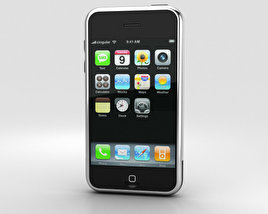 3D model of Apple iPhone (1st gen) Black