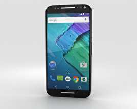 3D model of Motorola Moto X Style Black